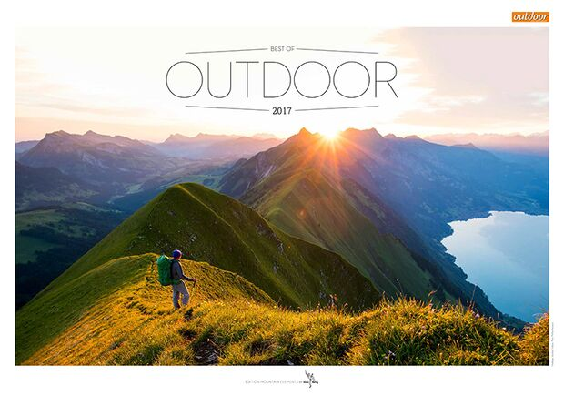 OD 2016 Kalender Best of Outdoor 2017 Titel