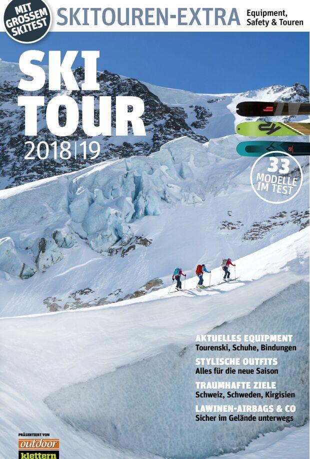 OD 2018 / 2019 Skitouren Special Cover Titel Maxi-Beilage