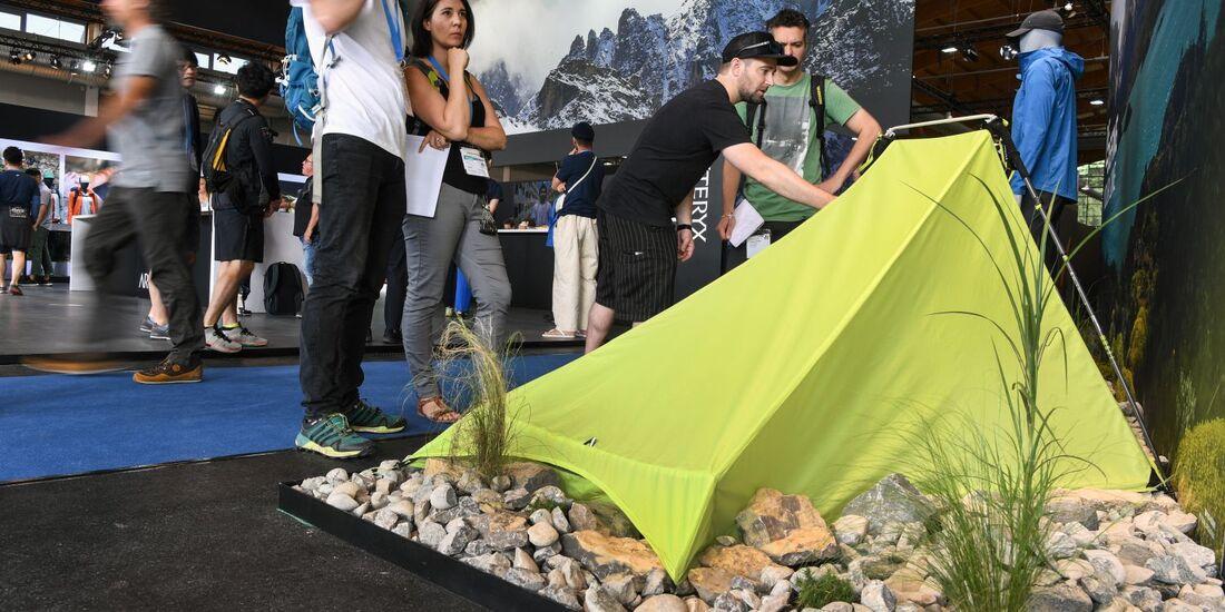 OD 2018 Outdoor Messe Neuheiten Zelt Rundgang