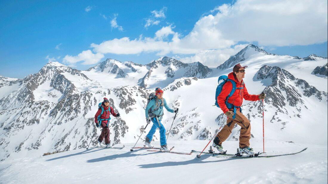 Ötztal Haute Route Skitour