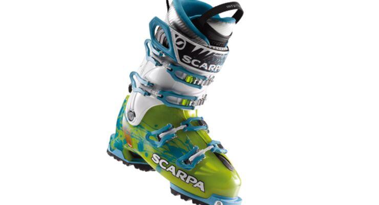 24 Tourenski im Skitest