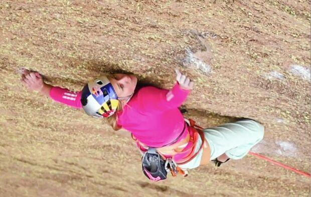 Sasha DiGiulian climbs Tsaranoro in Madagascar