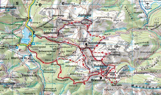 Skitour in den Alpen
