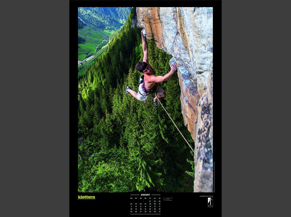 Sportkalender 2014 - klettern, outdoor, Mountainbike 12