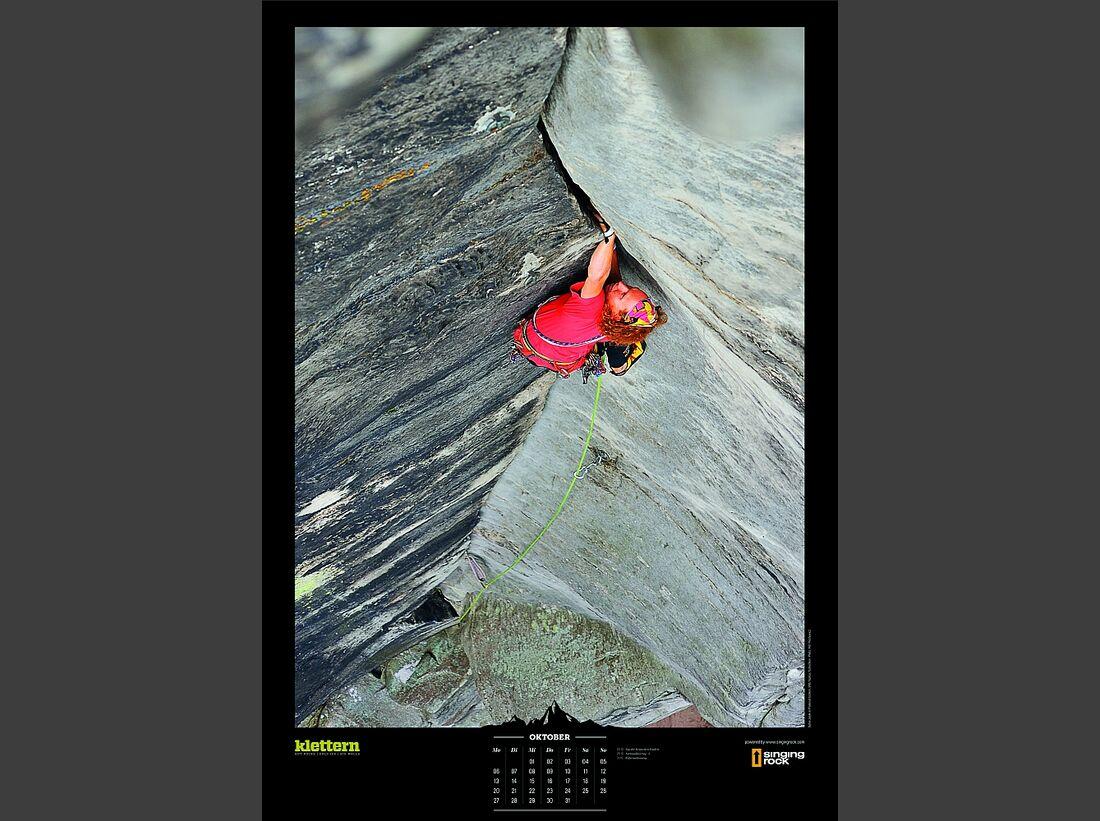 Sportkalender 2014 - klettern, outdoor, Mountainbike 14
