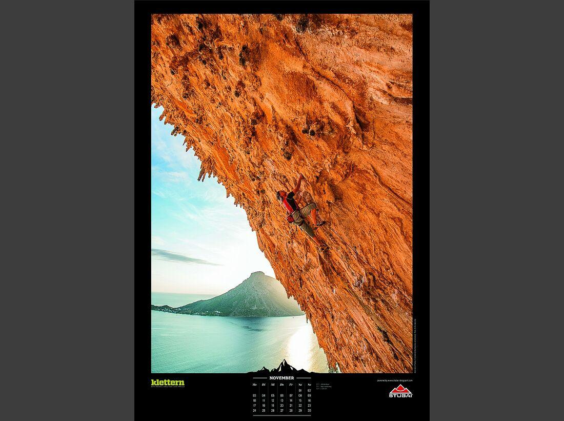 Sportkalender 2014 - klettern, outdoor, Mountainbike 15