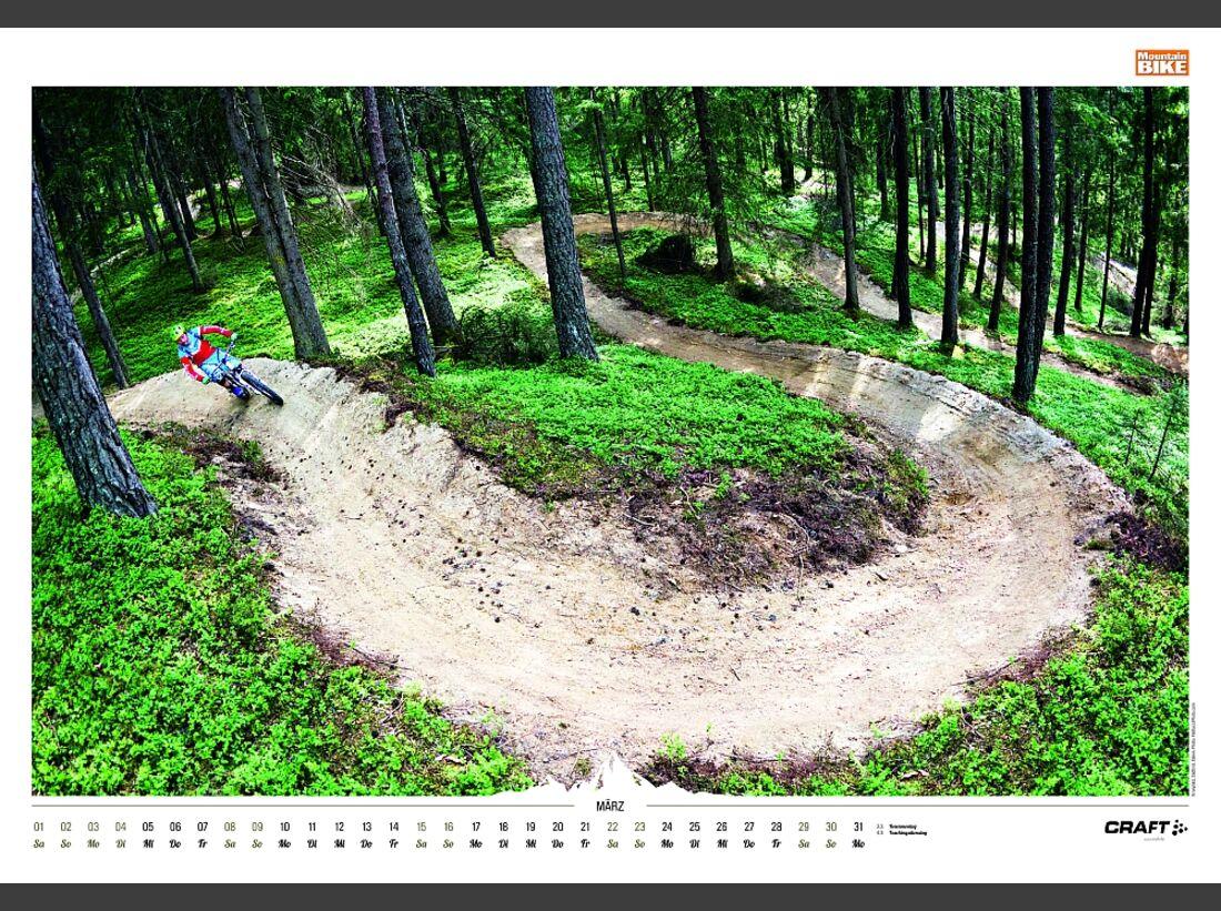 Sportkalender 2014 - klettern, outdoor, Mountainbike 33