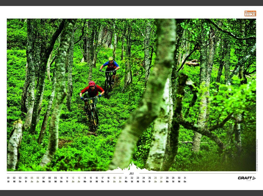 Sportkalender 2014 - klettern, outdoor, Mountainbike 37