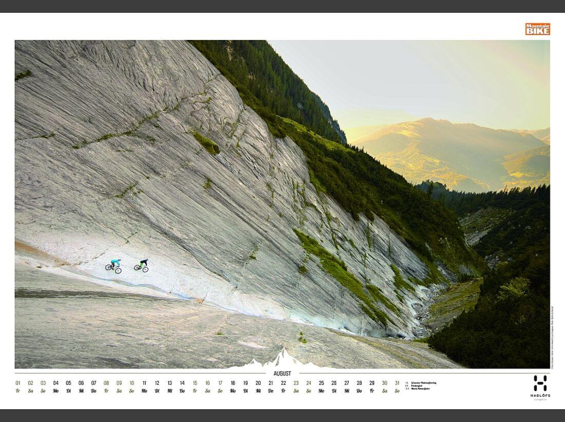Sportkalender 2014 - klettern, outdoor, Mountainbike 38