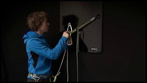 Standplatz-Management: Edelrid zeigt seine Verstellbare Standplatzschlinge (Video)