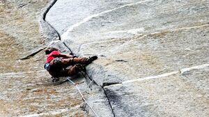 Trad-Klettern, clean climbing in der Schweiz