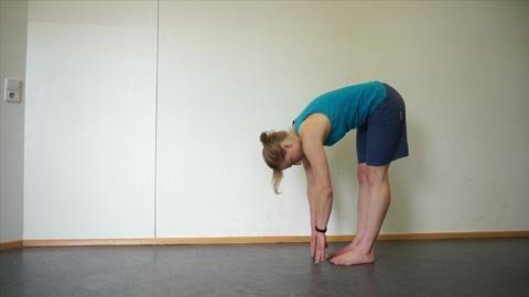Übung für Kletterer: Körper-Rückseite dehnen