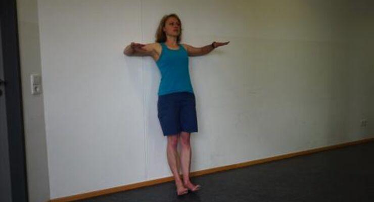Übung für Kletterer: Schultern stabilisieren