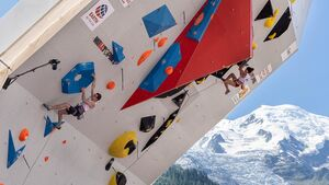 Will Bosi & Molly Thompson-Smith klettern in Chamonix im Halbfinale
