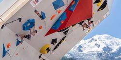 Will Bosi & Molly Thompson-Smith klettern in Chamonix im Halbfinale