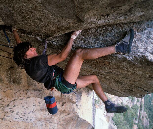 Wolfgang Güllich klettert Seperate Reality in Yosemite 5.11d